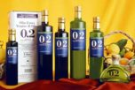 différentes bouteilles O.2